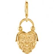 14kt Yellow CHARM Polished PRECIOUS METAL FASHION CHARM