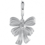 Sterling Silver CHARM NONE Polished NONE