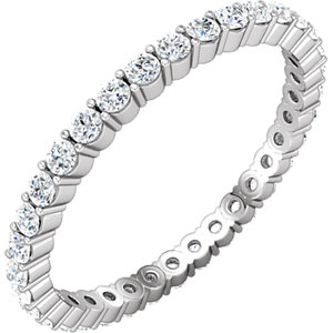 14kt White SIZE 05.50 UNSET Polished NONE. Price: $210.20