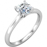 Platinum Band Complete No Setting NONE NO STONE NO STONE Polished BRIDAL BAND FOR SOLITAIRE ENG
