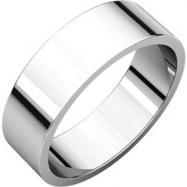 Sterling Silver 06.00 mm Flat Band