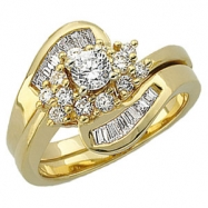14KW 1/3 CT TW P DIAMOND MATCHING BAND