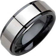 Ceramic 07.50 08.00 MM POLISHED CERAMIC COUTURE NONE