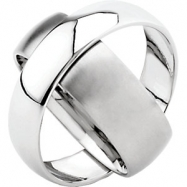 Stainless Steel 8MM/6MM Polished ROTATING BAND