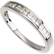14KW SIZE 07.50/ 1/3 CT TW P DIAMOND ANNIVERSARY BAND