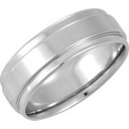 14kt White 4.5 07.50 mm Bridal Duo