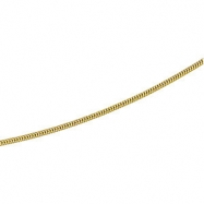 14kt Yellow BULK BY INCH Polished SOLID SNAKE CHAIN