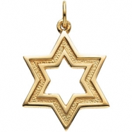 STER 20.25X18.00 MM P STAR OF DAVID