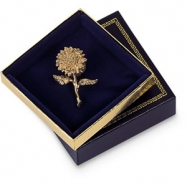 BLUE VELVET LINED LG CHARM BOX-PK24