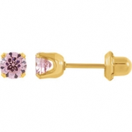 YP 05.00 MM P INVERNESS PINK CUBIC ZIRCONIA