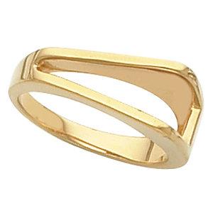 14kt White RING Polished METAL FASHION RING. Price: $516.07