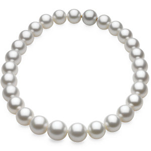 White Round Graduated 13-16 mm FASHION Strand PASPALEY SOUTH SEA. Price: $21086.78