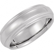 14kt Yellow 10 06.00 mm Design Band