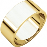 14kt Yellow 08.00 mm Flat Band