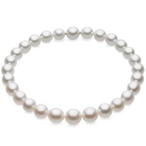 White Oval Graduated 13-16 mm FINE Strand PASPALEY SOUTH SEA. Price: $15334.18