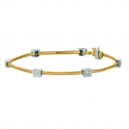 Diamond  squre bracelet