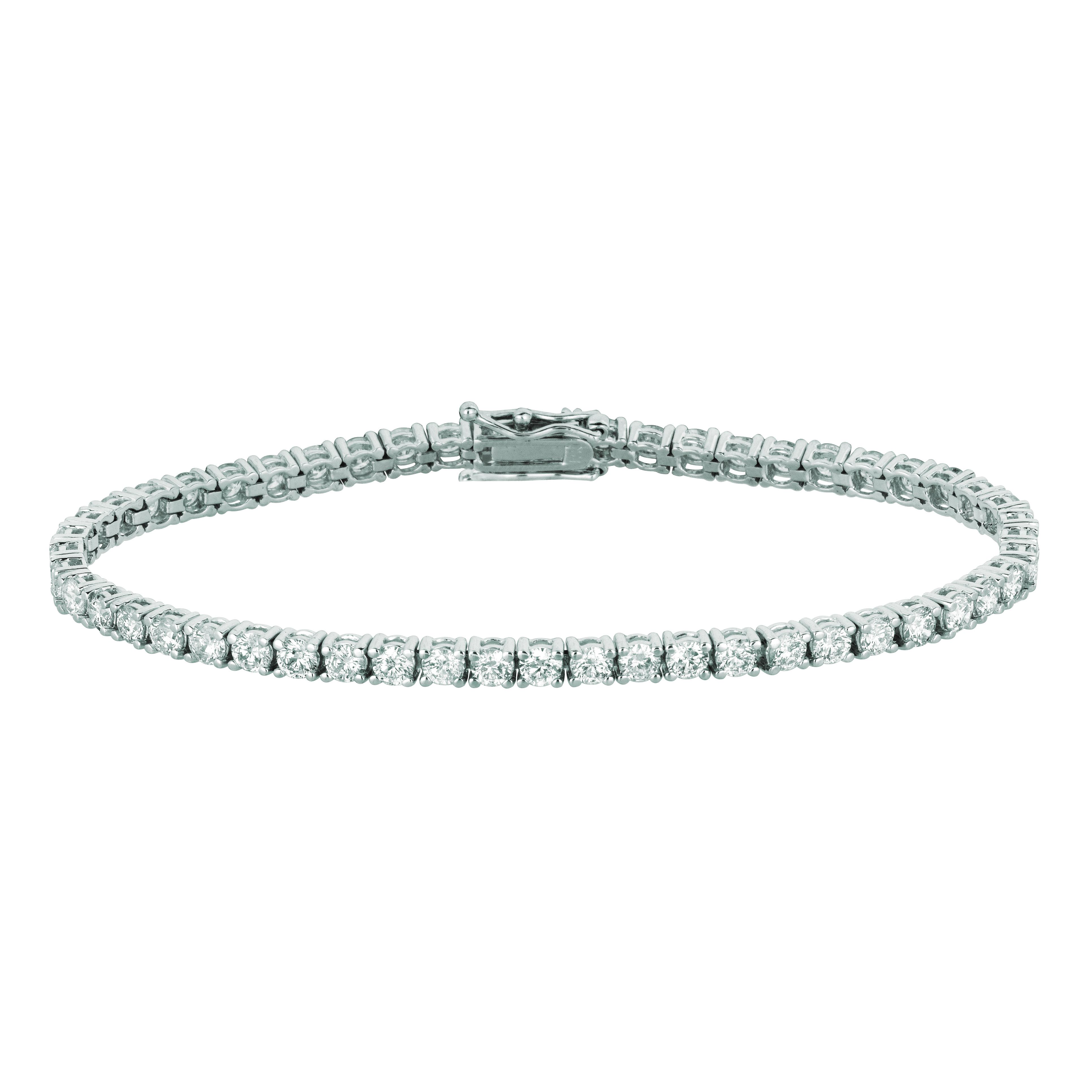 10 Pointer diamond bracelet. Price: $8449.33