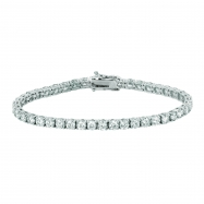 20 Pointer diamond bracelet