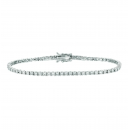 4 Pointer diamond bracelet