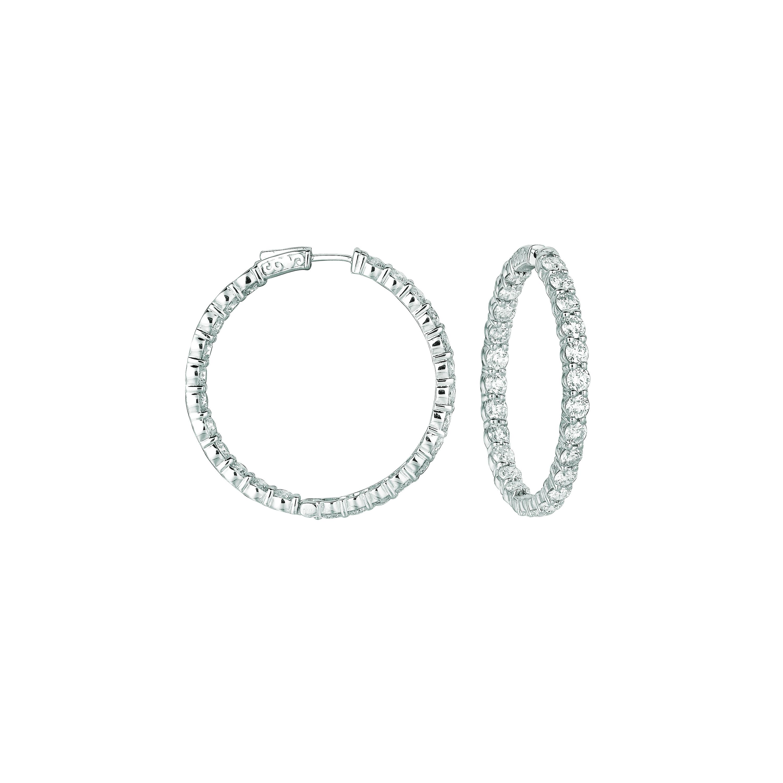 20 Pointer hoop earrings/patented snap lock. Price: $18850.67