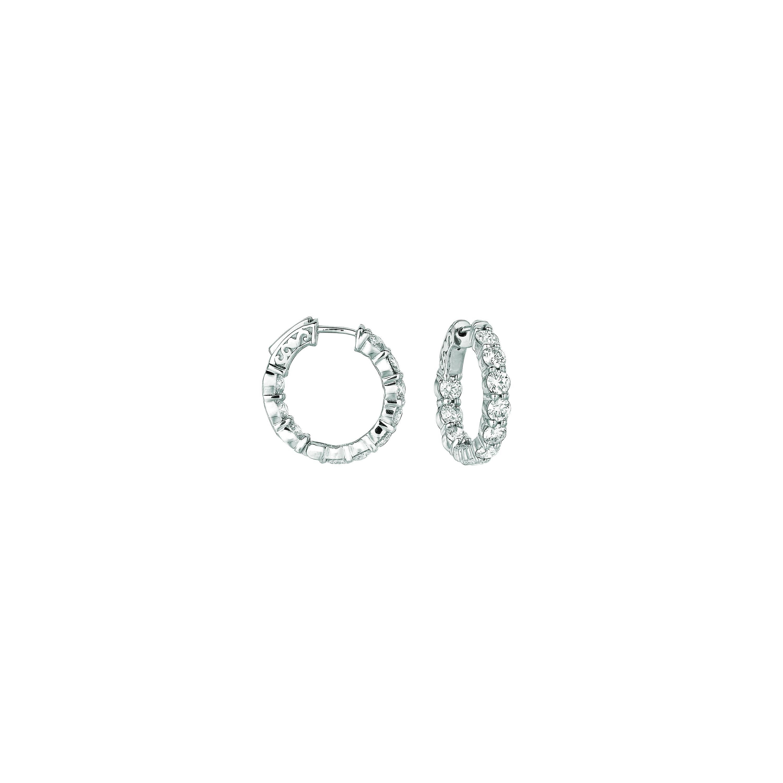 20 Pointer hoop earrings/patented snap lock. Price: $7830.67
