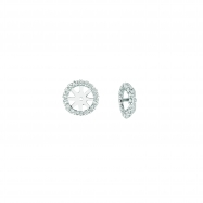 2 - 2Ct Diamond jacket earrings