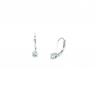 25 pointer each diamond earrings