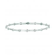 Diamond bezel set bracelet