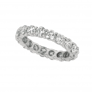 20 pointer diamond eternity band
