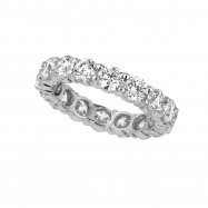 25 pointer diamond eternity band