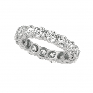 30 pointer diamond eternity band