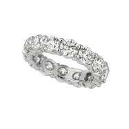 40 pointer diamond eternity band