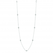 20 Pointer 7 station 18 diamond necklace