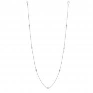 5 Pointer 7 station 18 diamond necklace