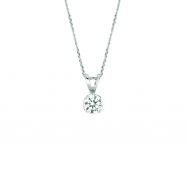25 pointer diamond necklace