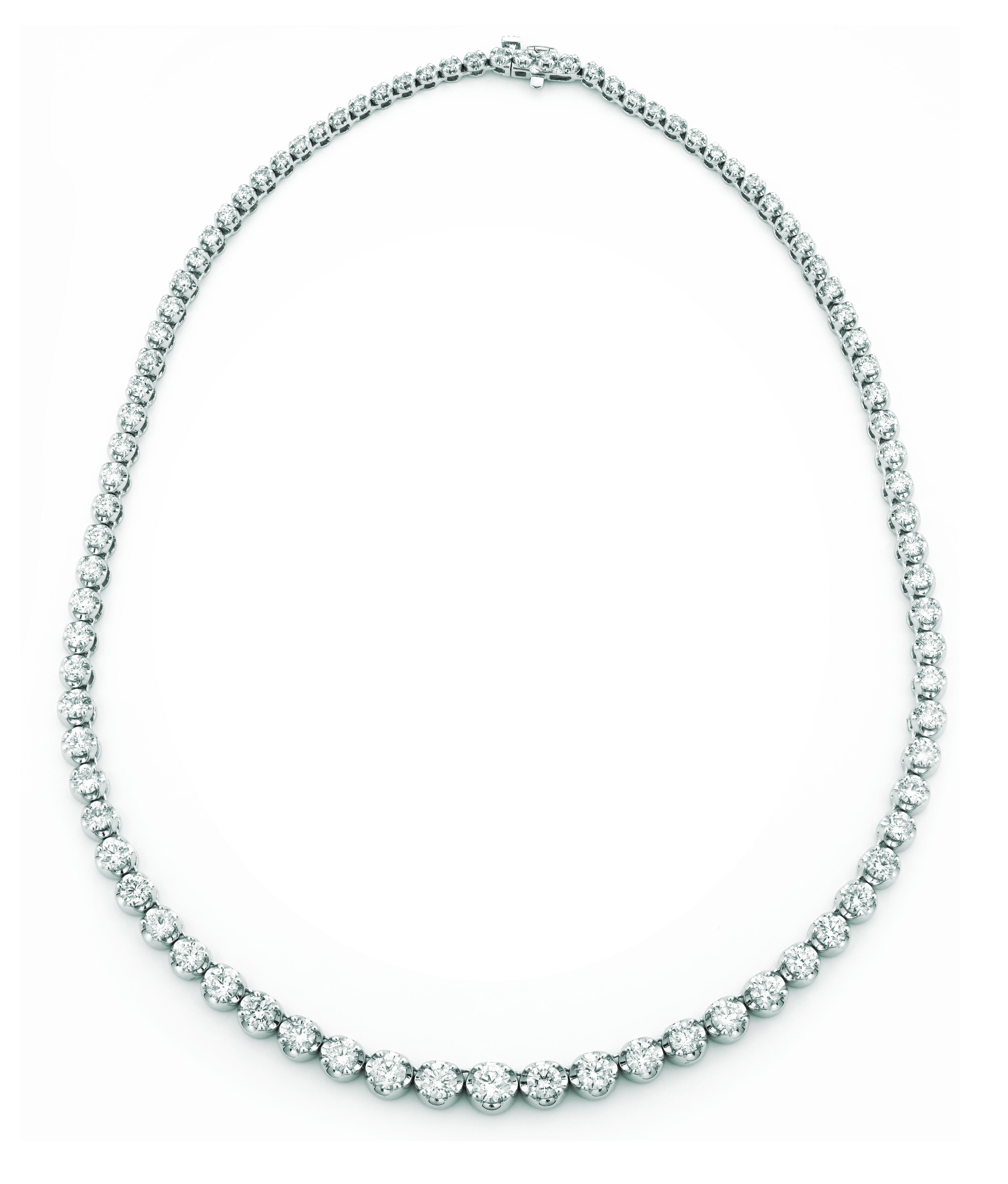Diamond necklace. Price: $21156.00