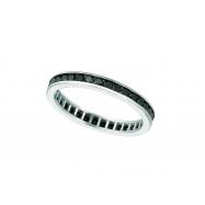 All around black diamond ring