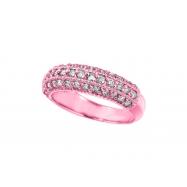 Diamond Fashion Ring, 14K Pink Gold