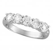 Five 5 Stone Diamond Ring