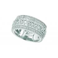 Diamond byzantine ring