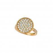 Diamond  round ring