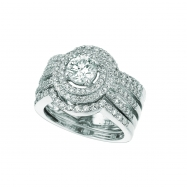 3Pc Diamond ring