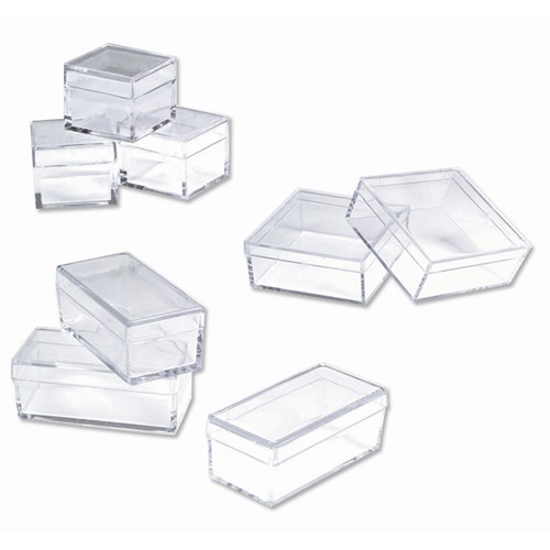 Small Square Plastic Box