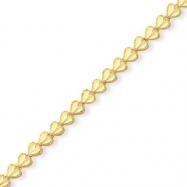 10k HEART Bracelet