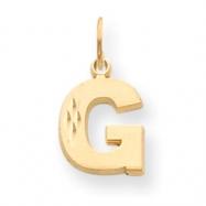 14k Initial G Charm