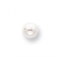 White 6mm Full-Drilled Freshwater Cultured Pearl