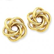 14k Love Knot Earrings