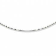 14k White Gold 2mm Neckwire Necklace chain