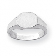 14k White Gold Child