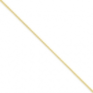 10k 1mm Spiga Chain anklet